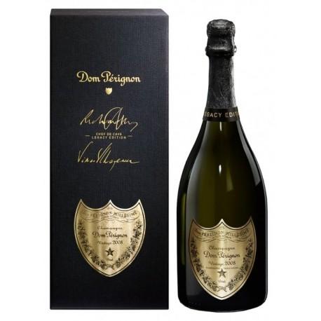 Dom Perignon vintage 2008 Legacy Edition en coffret